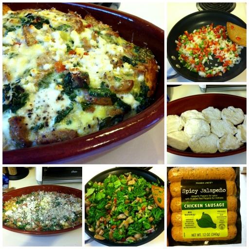 casserole collage