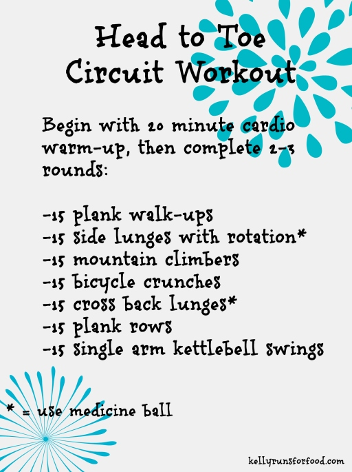 Head to Toe Circuit Workout