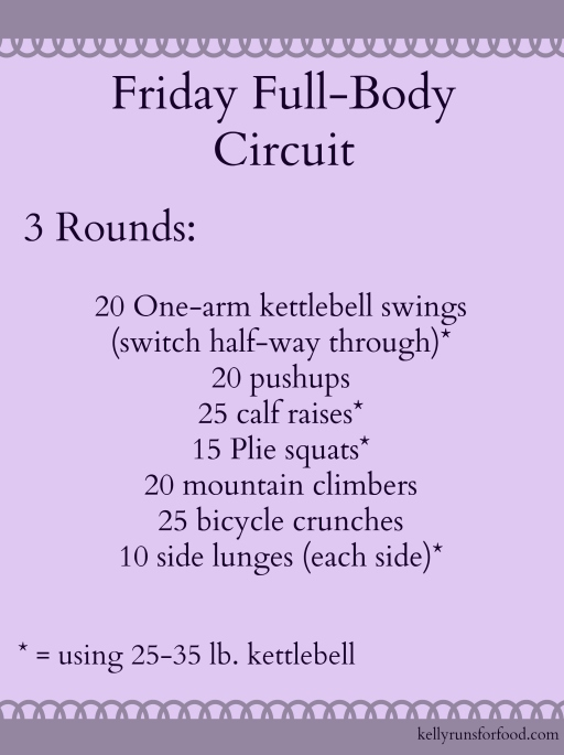 Friday Full-Body Circuit