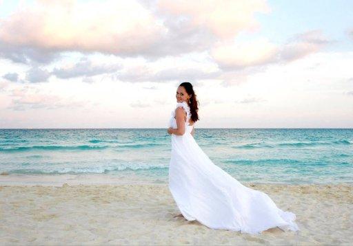 Kelly on Beach- Mexico