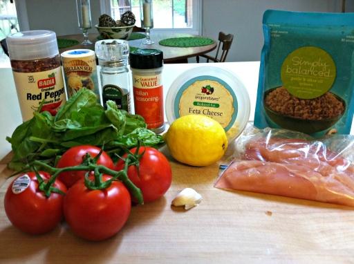 Quinoa chicken ingredients