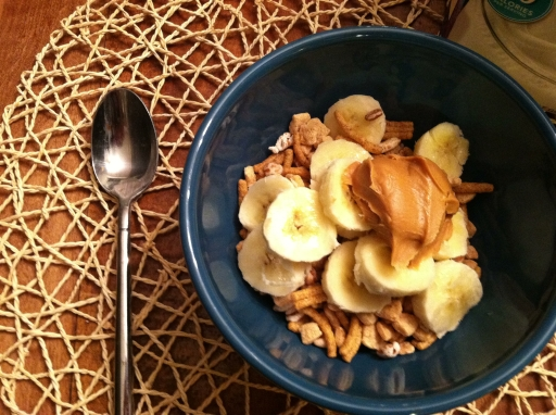 cereal with pb