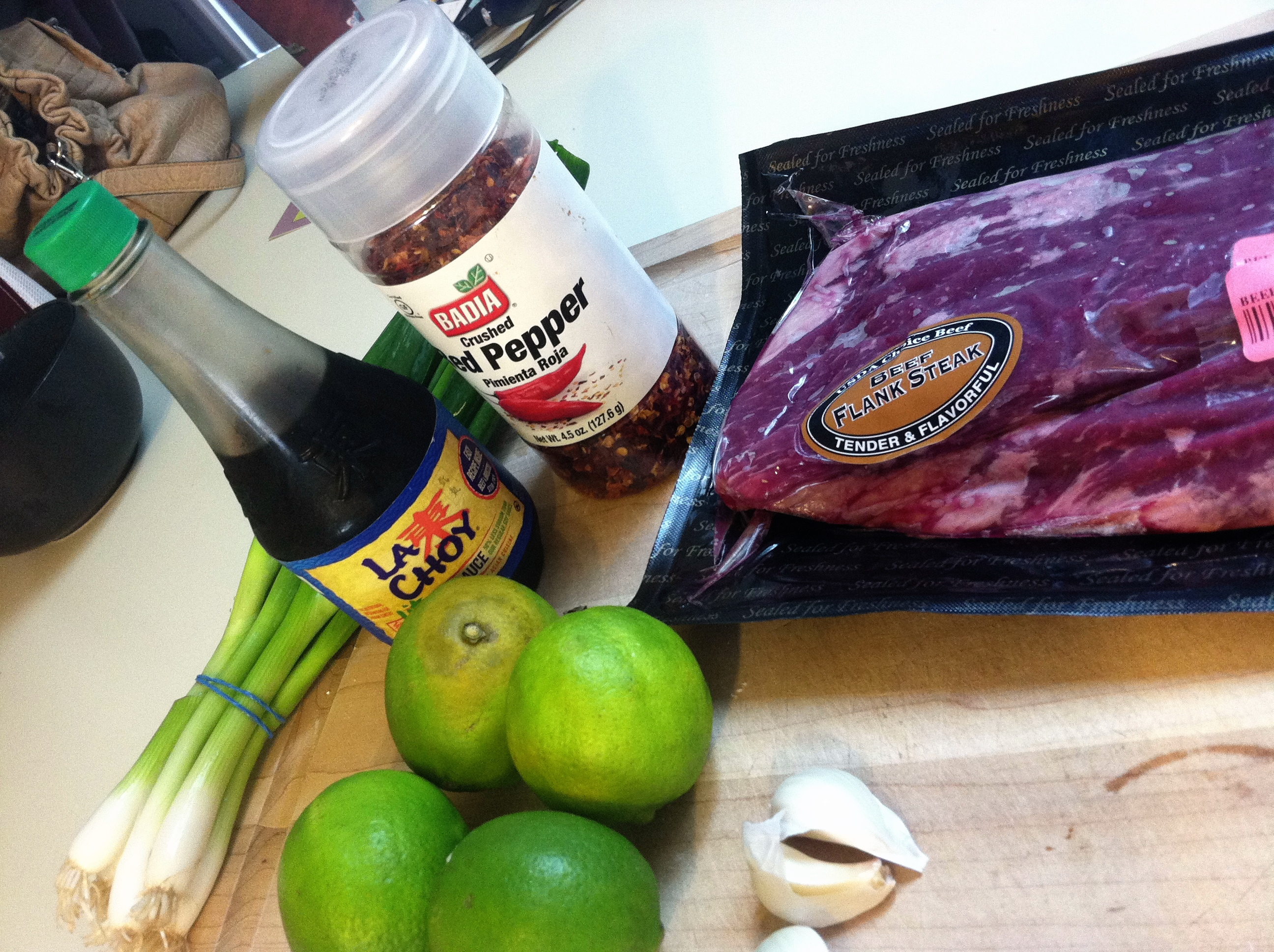Flank steak marinade ingredients
