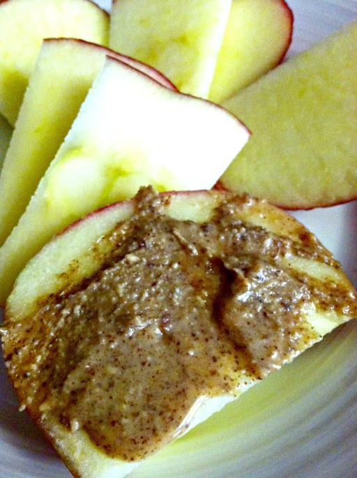 honeycrisp and maple almond butter 3