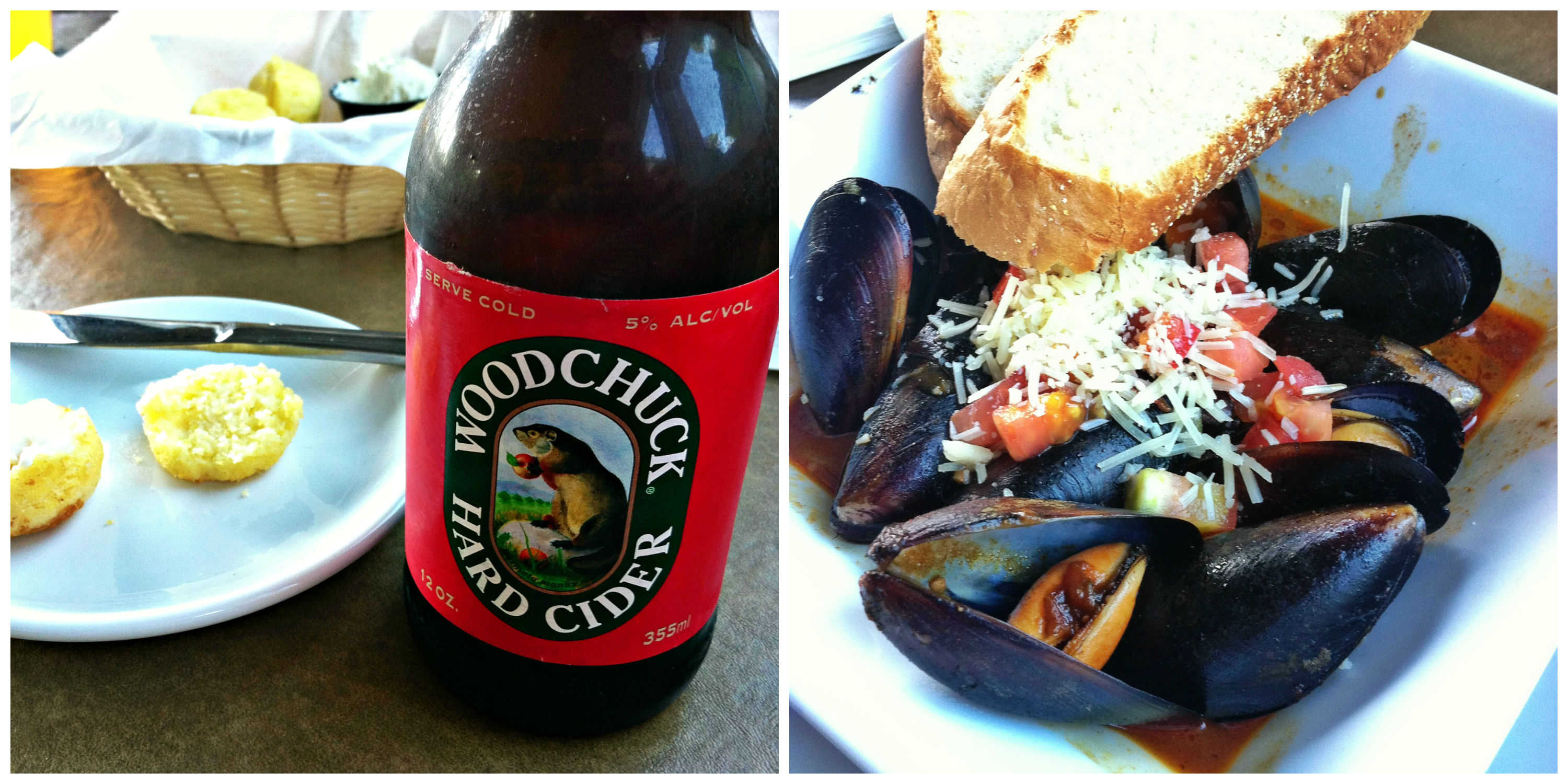 Mussels Collage