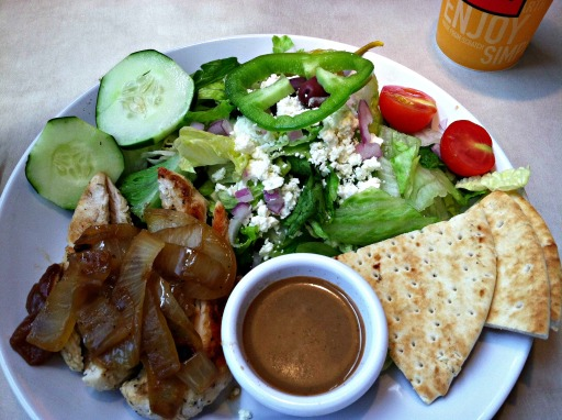 Salad Zoe's Kitchen