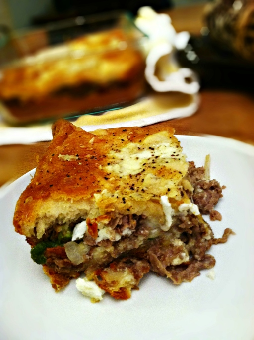 Steak Layer Bake Slice