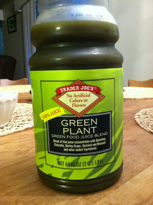 Trader Joe's Green Juice