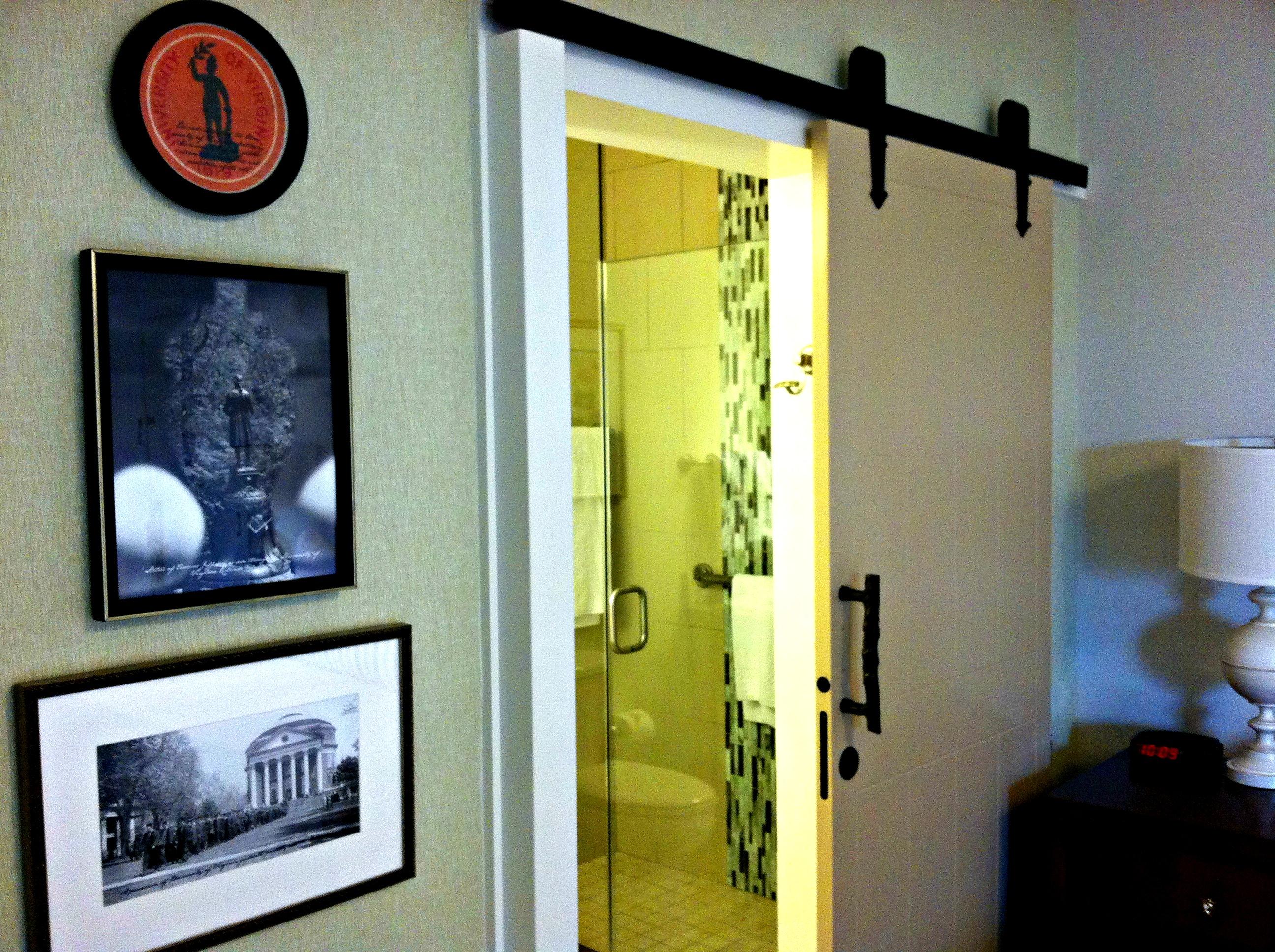 Boar's Head Bathroom Door