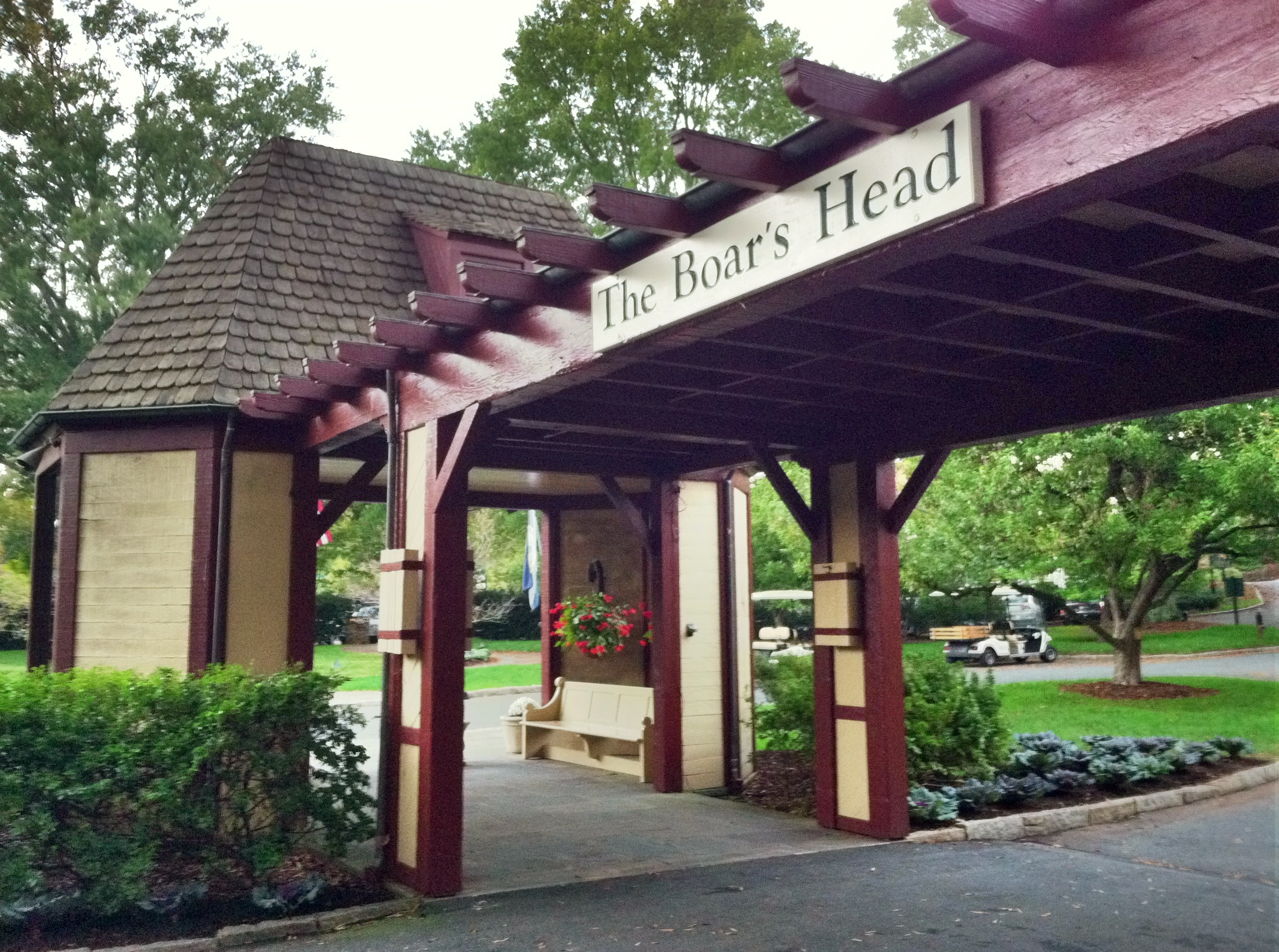 Boar's head entrance