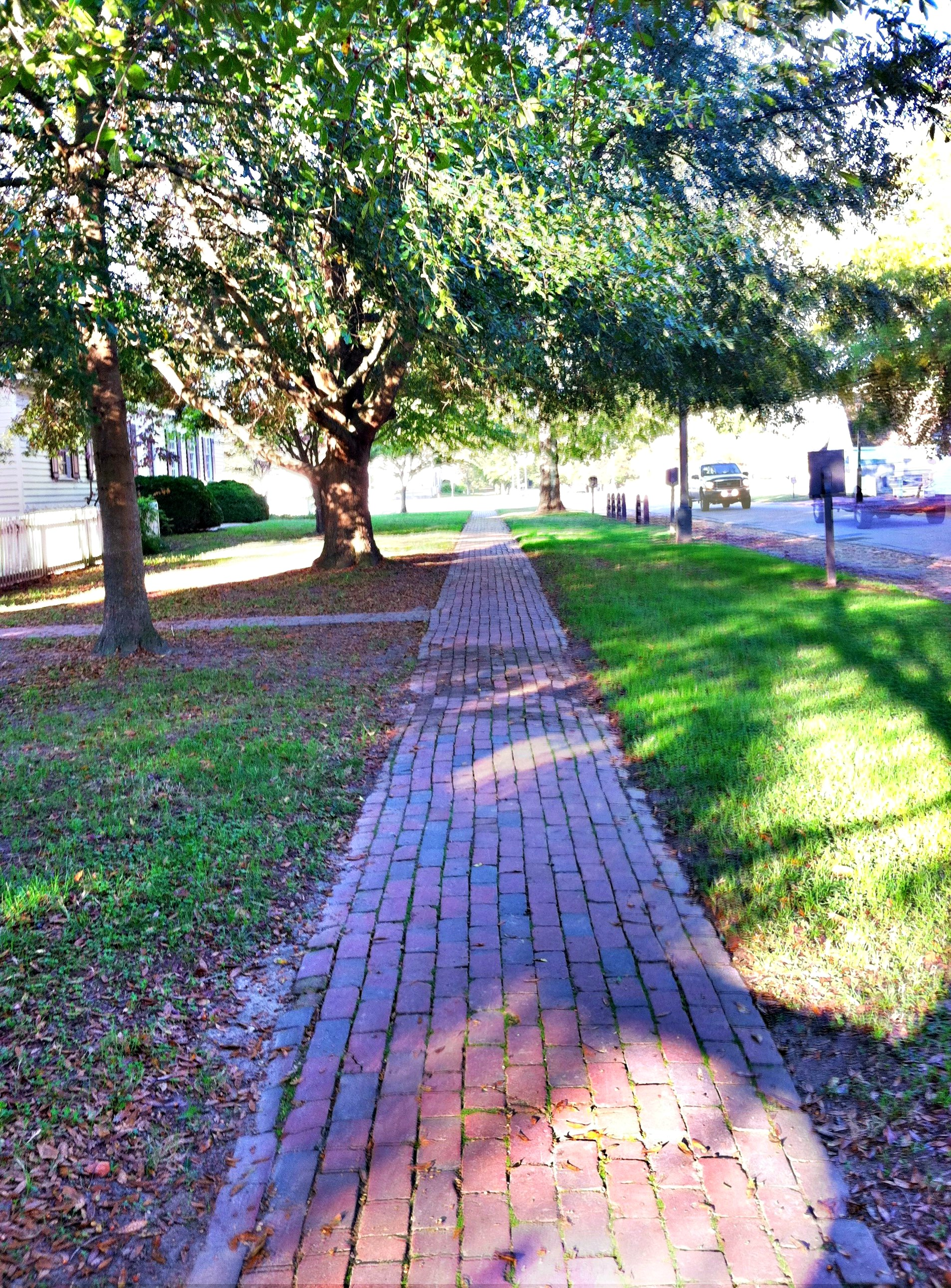 CW Brick path