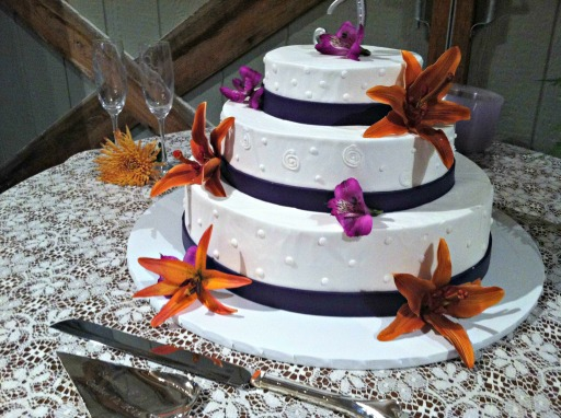 new kent wedding cake