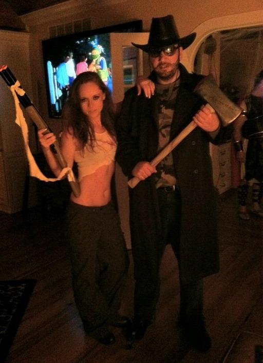 Zombie hunter costumes 2