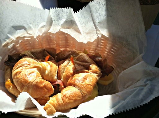 Aroma's Croissant