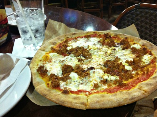 Baker's Crust pizza