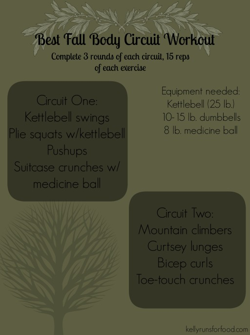 Best fall body circuit workout