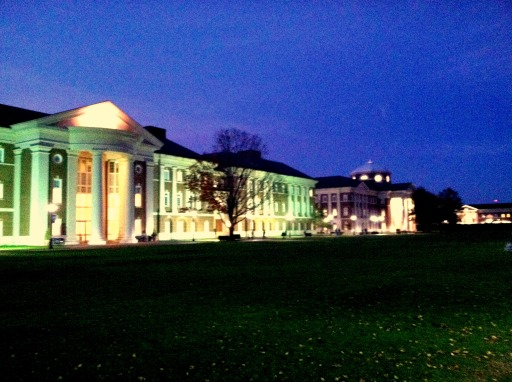 CNU at night