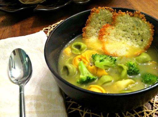 tortellini and broccoli soup