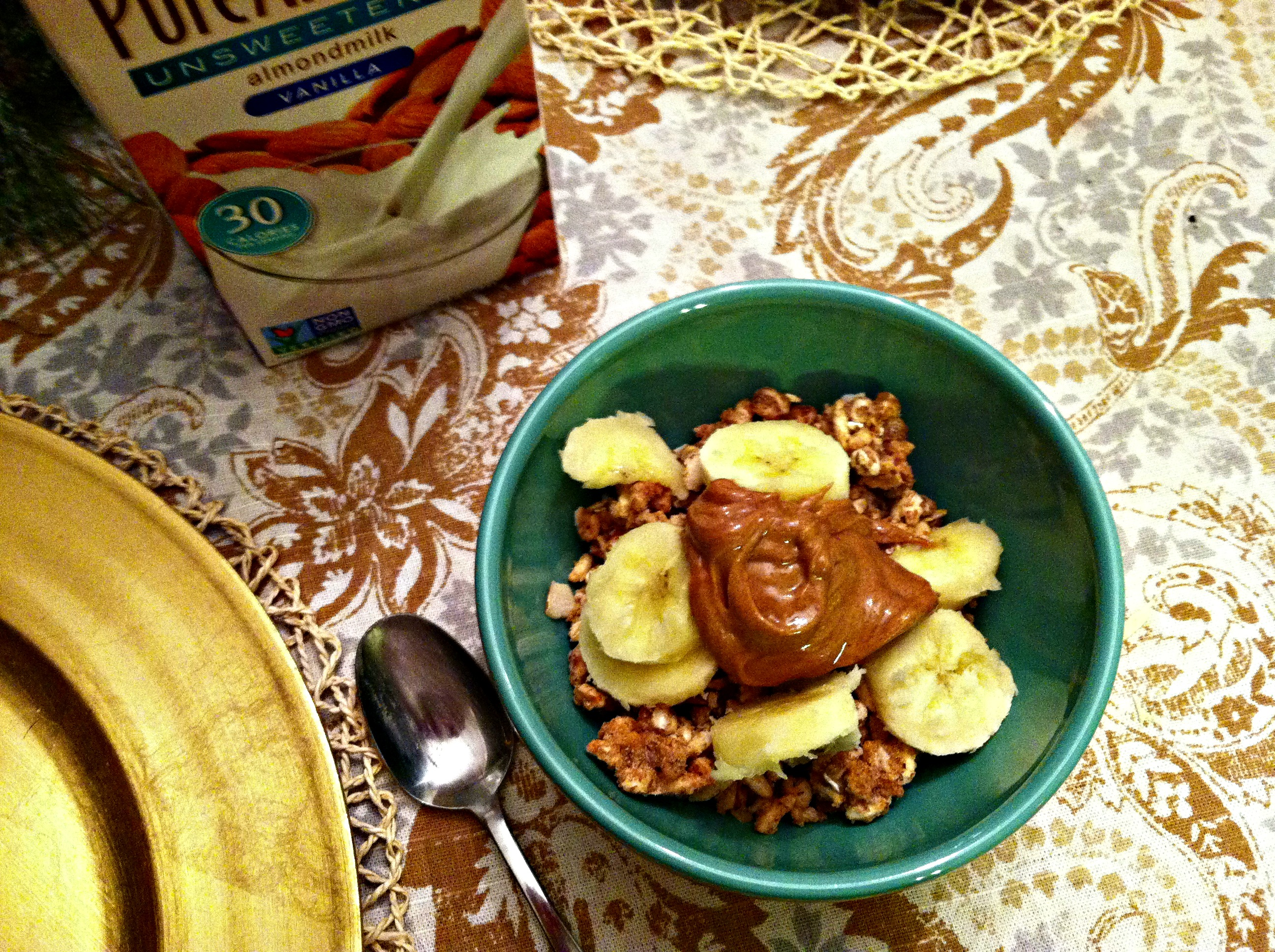 Cereal and PB