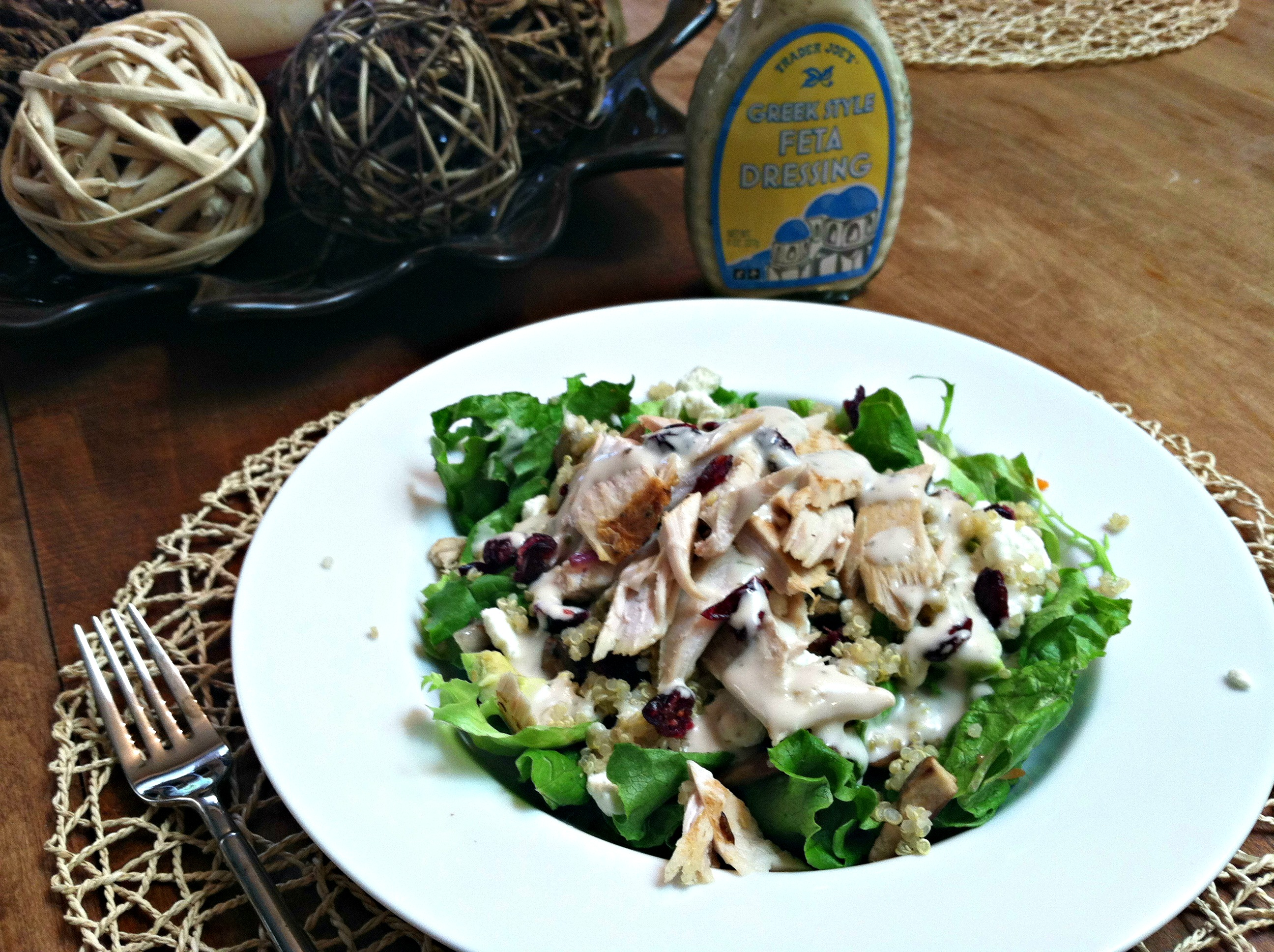 Turkey power salad 1