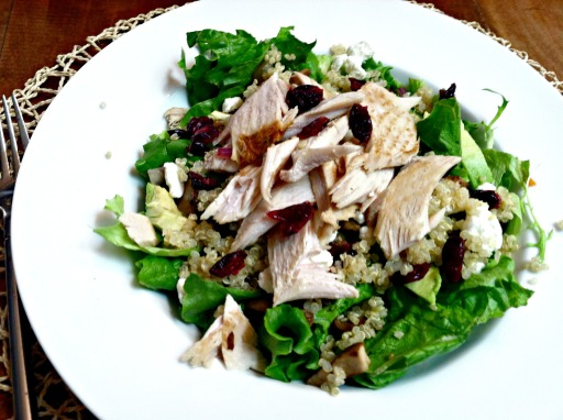 Turkey power salad 2