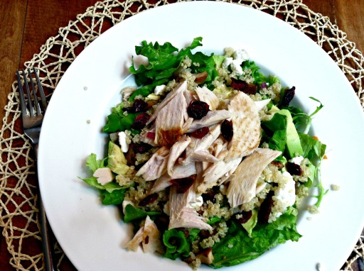 Turkey Power salad 3