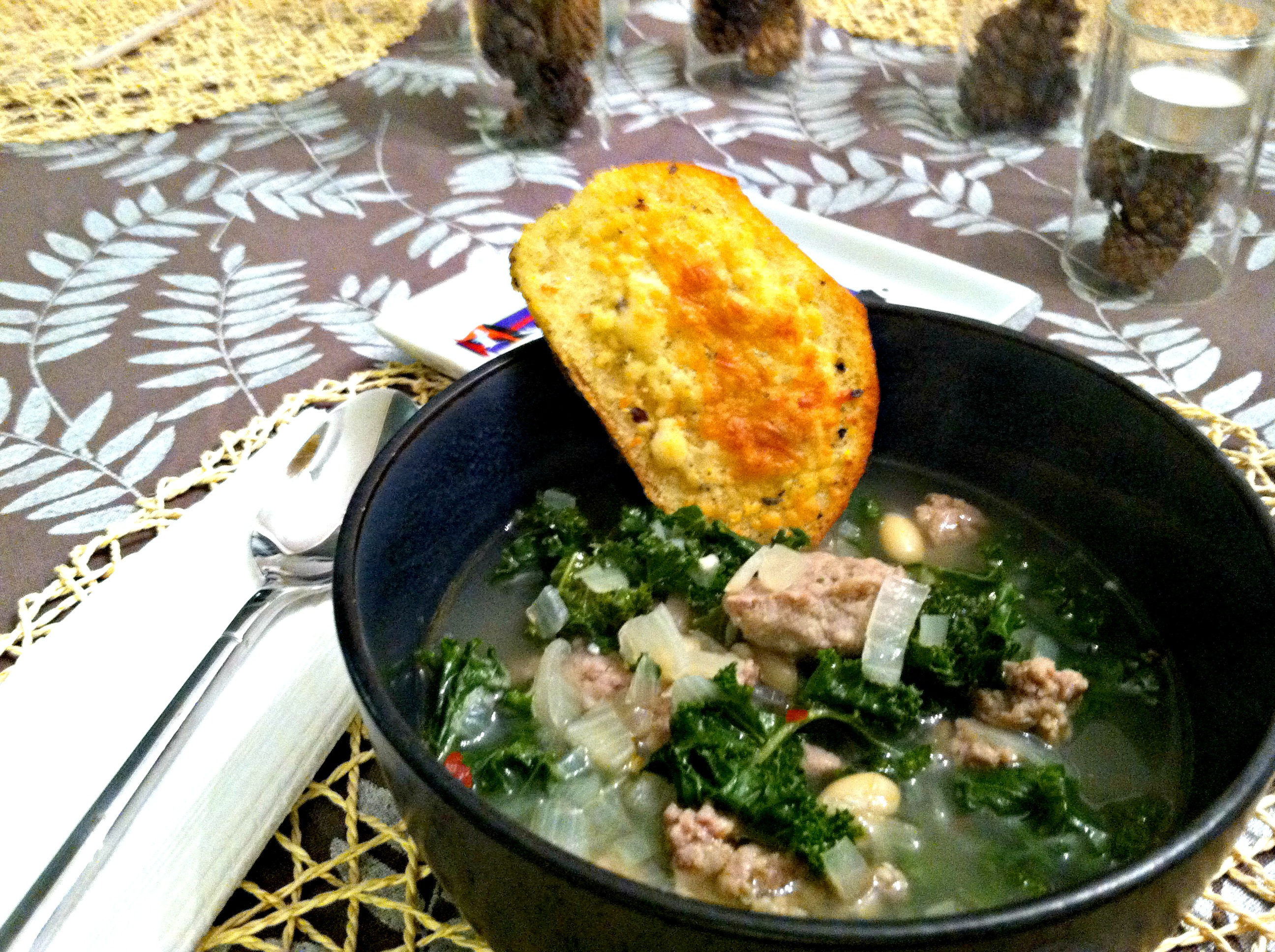 turkey sausage soup 3