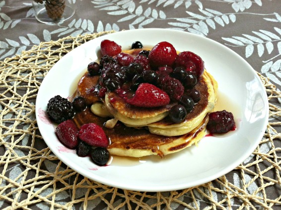 Greek yogurt protein pancakes 1