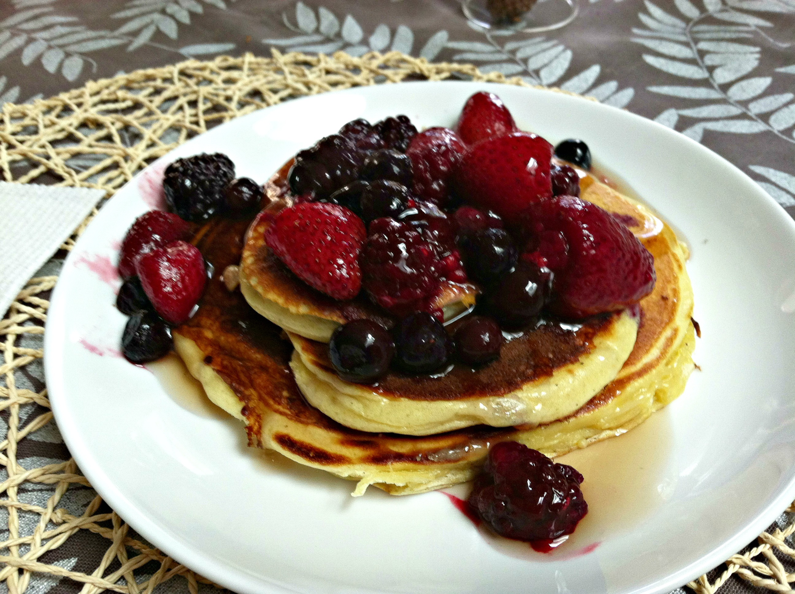 Greek yogurt protein pancakes 4