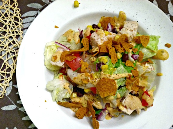 Southwestern chicken salad 2