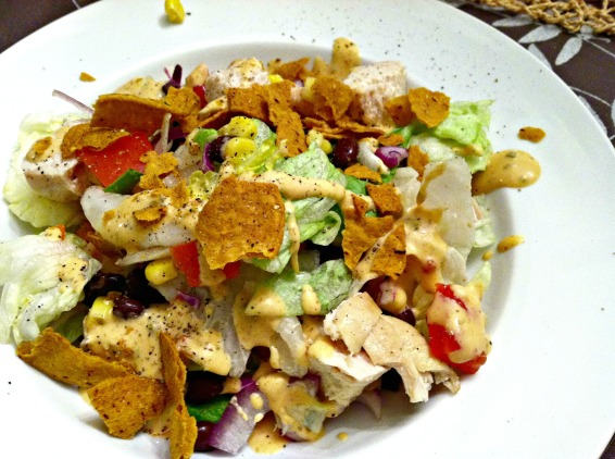 Southwestern chicken salad 3