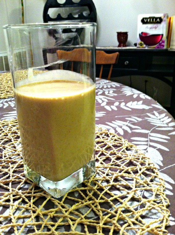 Vegan PB protein smoothie
