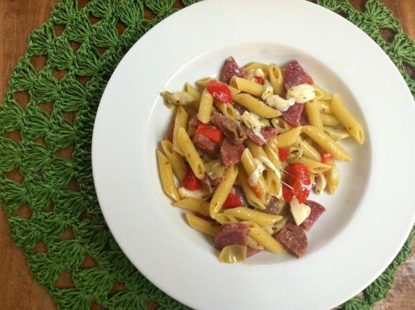 Antipasto pasta salad 2