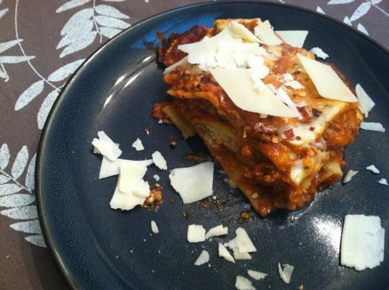 TJ lasagna