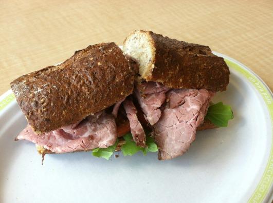 Au Bon Pan roast beef