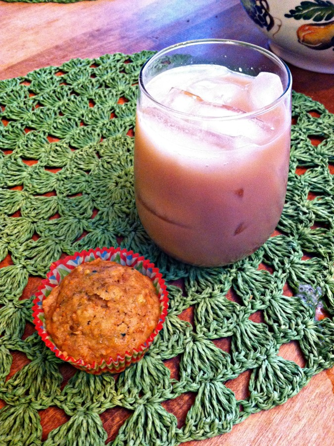 muffin and White Russian