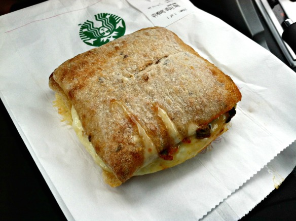 Starbucks breakfast sandwich