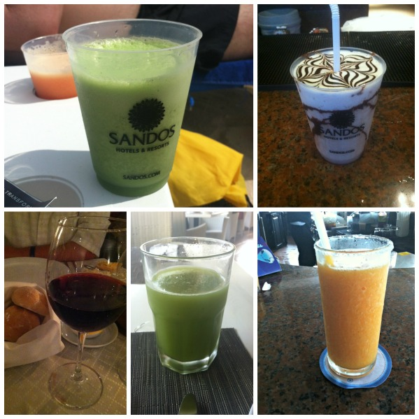 Mexico drinks collage
