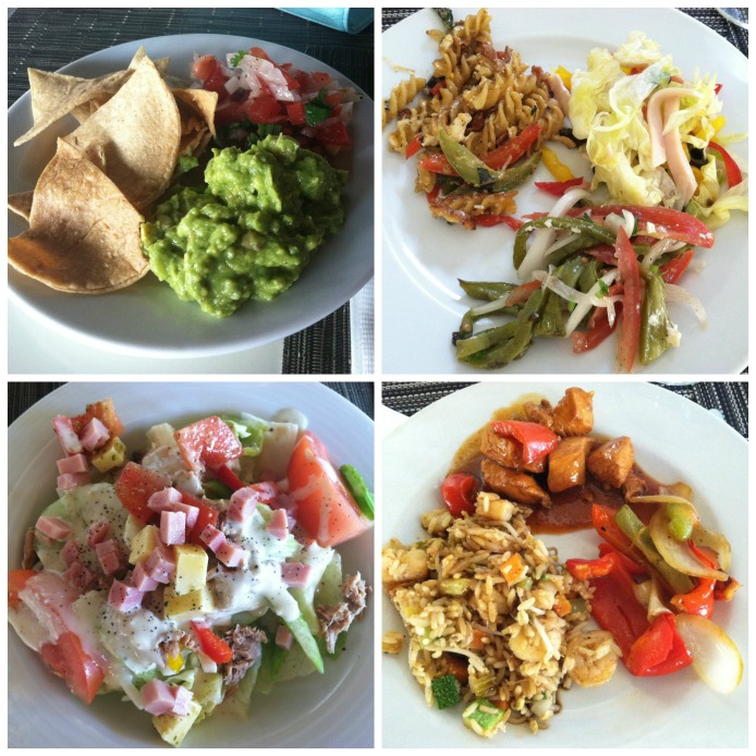 Mexico Lunch collage