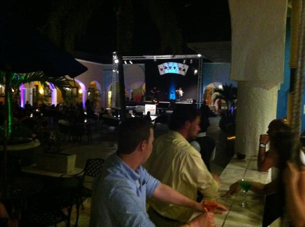 Sandos evening concert