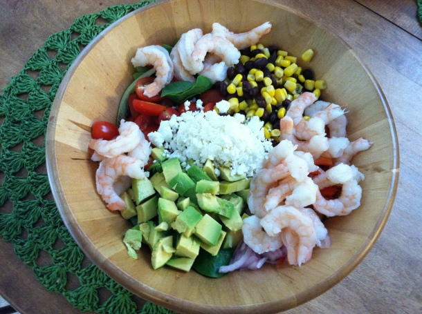Southwestern shrimp salad 2